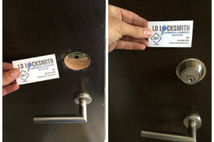 LD Locksmith - deadbolt lock installation