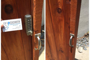 LD Locksmith - touch pad